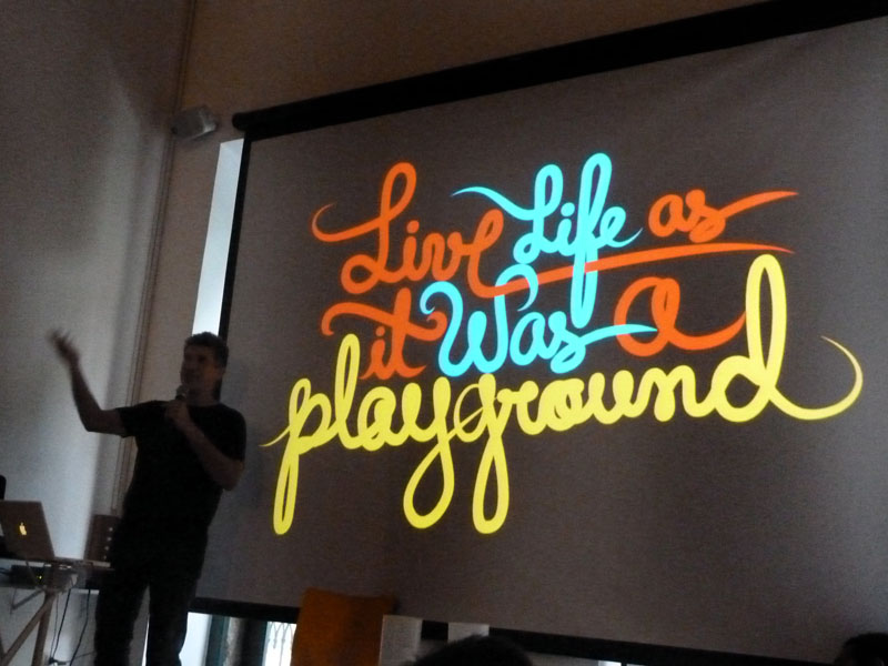 :: Live TYPE as it was a playground!