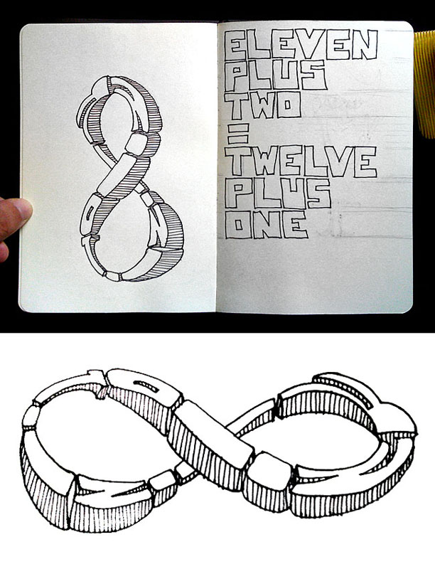 :: Sketchbook. Infinite / Eleven plus two.